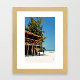 Wish you were here. Framed Art Print