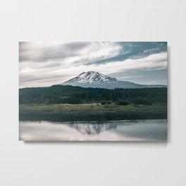 Mount Adams Reflections Metal Print