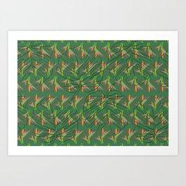Tropical Envie Art Print