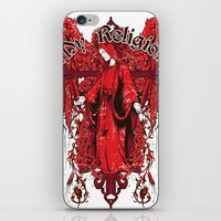religion iPhone & iPod Skins featuring My religion by Tshirt-Factory