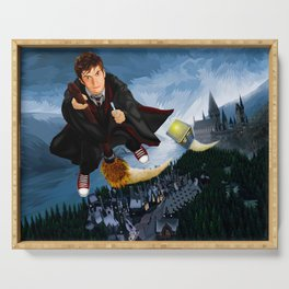 10th Doctor who lost in the wizard World Serving Tray