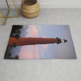 Daytona Beach Lighthouse Rug