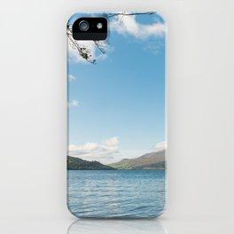 Loch Tay in Kenmore Scotland iPhone Case