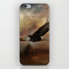 Eagle Flying Free iPhone Skin