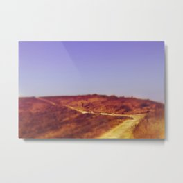 Around the Bend - Channel Islands Metal Print