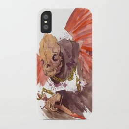 Grandmother Death II iPhone Case