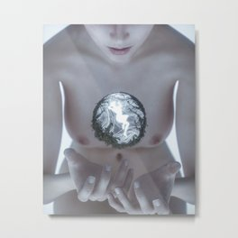 Divine (Uncensored) Metal Print