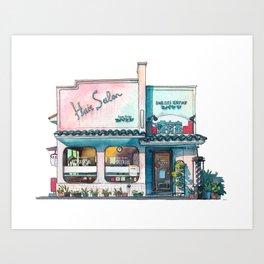 Tokyo storefront #03 Art Print