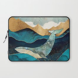 Blue Whale Laptop Sleeve