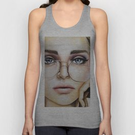 Face for NYC Unisex Tank Top