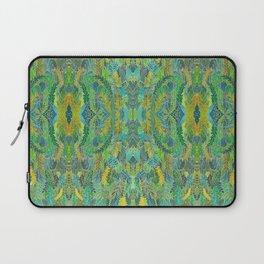 Green leaves Laptop Sleeve