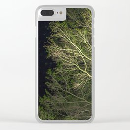 En-tree-ging Clear iPhone Case