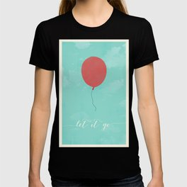 LET IT GO - RED BALLOON T-shirt