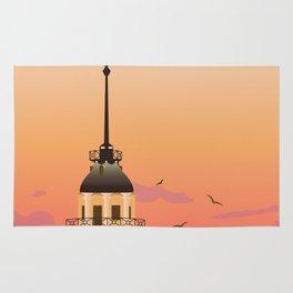 Istanbul Illustration Rug