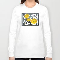 iceland Long Sleeve T-shirts featuring  Iceland poppy  by LudaNayvelt