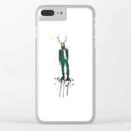 Pan Clear iPhone Case