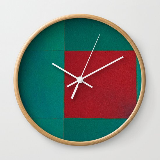 Plaza Wall Clock