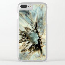 Crystal Abstract Clear iPhone Case
