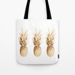 Pineapples and illusion Tote Bag