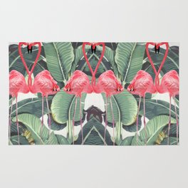 Flamingo Lovers Rug