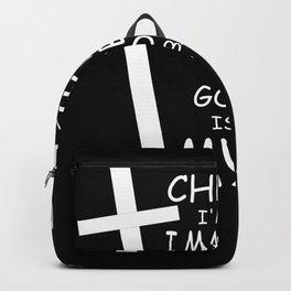 I'm A Christian - God Jesus Gift Backpack