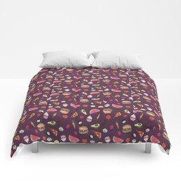 Yummy! (purple) Comforters