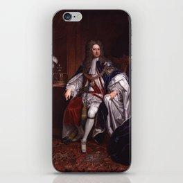 King George I portrait iPhone Skin