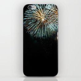 the Fireworks iPhone Skin