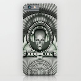 Currency of Rock / Accept no substitutes iPhone Case