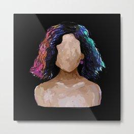 Microsoft Paint. Marina. Metal Print