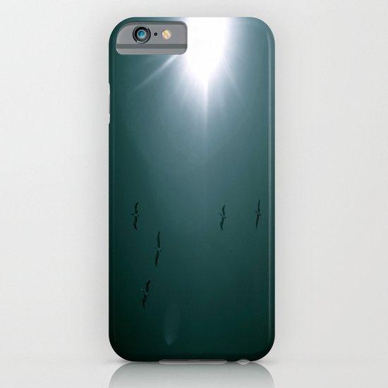 Birds in Blue Sky iPhone & iPod Case