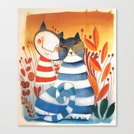 FRANCESCO&CAT Canvas Print