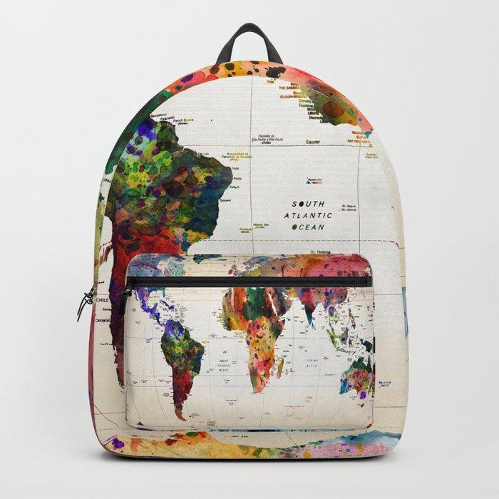 Map Backpack By Markashkenazi Society6