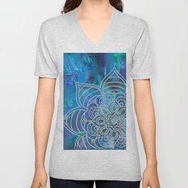 Mystical Mandala Unisex V-Neck