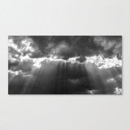 Black Light Canvas Print