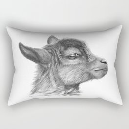 Goat baby G099 Rectangular Pillow