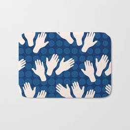 Waving Hands Bath Mat