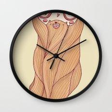 Bear Beard Wall Clock
