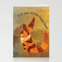 nausicaa Stationery Cards featuring Teto the Fox-Squirrel by HSuits