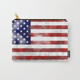 Rugged USA Flag Carry-All Pouch