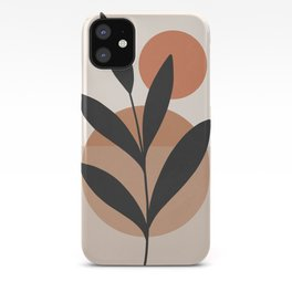 Abstract Minimal -Plant 7 iPhone Case
