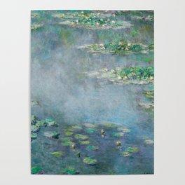 Monet Water Lilies / Nymphéas 1906 Poster