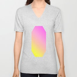 Emerald Yellopink Unisex V-Neck