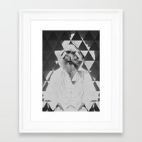 kaleidoscope Framed Art Prints featuring Kaleidoscope by Mrs Araneae