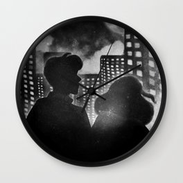 Cityscape | Lovers Wall Clock