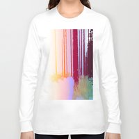 forrest Long Sleeve T-shirts featuring Color Forrest by Darla Designs