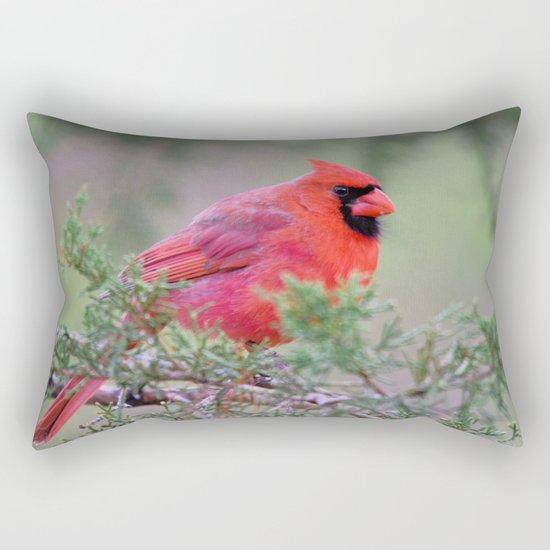 Spring Cardinal Rectangular Pillow