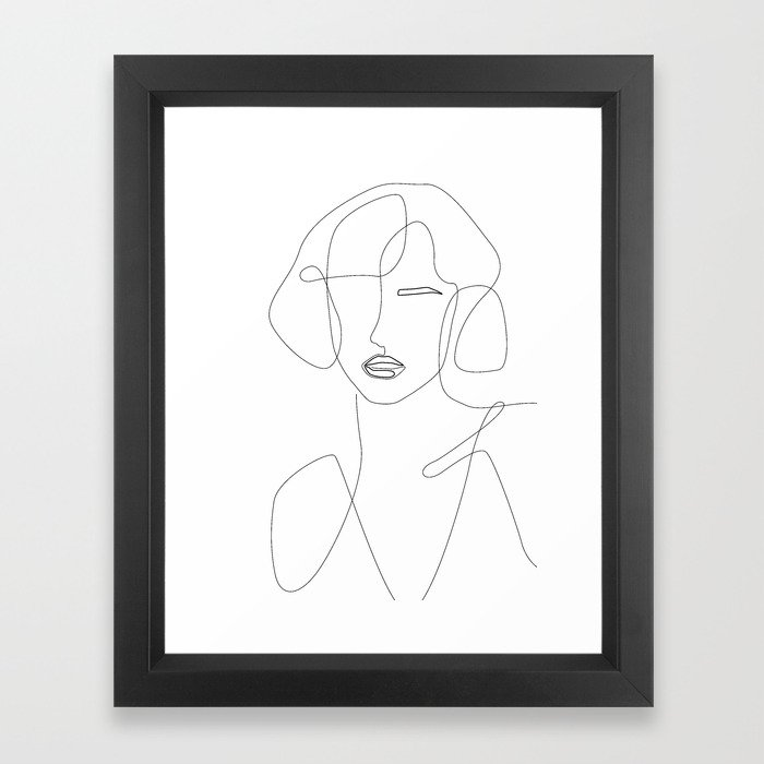 Feminine Touch Framed Art Print