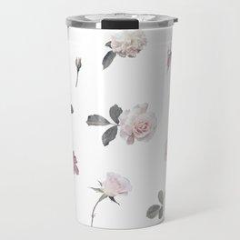 Floral Theme - flowers, flower, rose Travel Mug