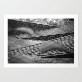 Roofs of Kengo Kuma Art Print